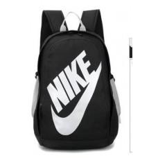 Рюкзак Nike школьный черный с белым